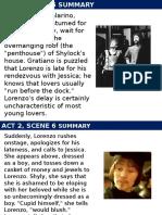 Merchant of Venice Act 2 Part 2