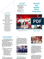 Seventh-day Baptist World Federation Members