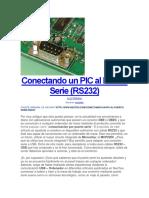 Conectando Un PIC Al Puerto Serie (RS232)-PROTON