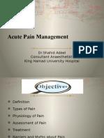 Presentation for Acute Pain Management RCSI.pptx