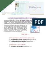 Automatizacion en Citología en Base Líquida