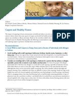 Carpets Healthy Homes