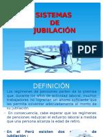 Clase 3 Tipos de Sistema de Jubilación Perú