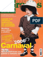 6.- Revista Patrones - Especial Disfraces