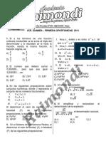 1er+Examen++-+PRIMERA+OPORTUNIDAD+Cepru+-+2011+-