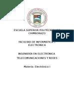 Electronica Consulta 1 Tercer Parcial