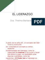 Clase 10 El Liderazgo
