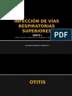 Infecciones de Las Vías Repiratorias Superiores