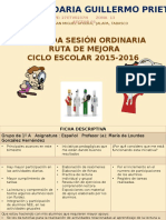2a Sesión Ordinaria Ruta Estv Guillermo Prieto