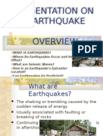 Ppt on Earthquake 1