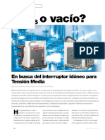 Celdas de Media Tension