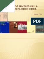Los Niveles de La Reflexión Ética
