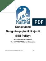 Revised Nunavummi  Nangminiqaqtunik Ikajuuti policy