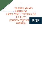 Venerable Mamo Arhuaco Arwa Viku