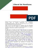 Partido Politicos Honduras. Docx
