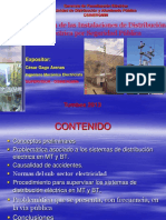 Supervision de Las Instalaciones de Distribucion Electrica Peru