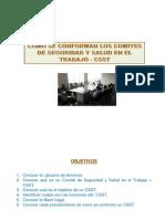 Como se conforma un Comite de Seguridad y Salud en el Trabajo - CSST.pdf