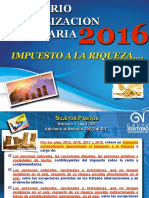 Actualización Tributaria 2016_Tema 5_Impuesto a La Riqueza_Normalización Tributaria_Declaración 1