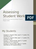assessing student work