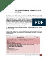 Analisis Beban Gempa SNI Gempa 1726-2012