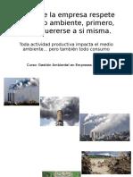 Para Que La Empresa Respete El Medio Ambiente