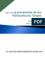 Origen de La Renta de Hidrocarburos