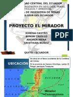 Presentacion Proyecto Mirador 1