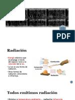 Radiación y Evaporación