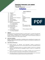 Silabo 2015-II Natación