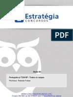 Pacote Completo p Tcm Sp Ciencias Juridicas Portugues p Tcm Sp Todos Os Cargos Aula 03