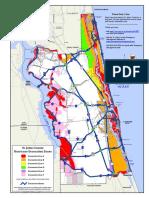 St. Johns County Evacuation Map