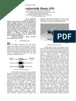 Karakteristik Dioda (E9)