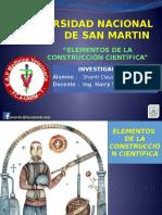 Elementos de La Construccion Cientifica