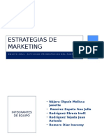 Estrategias de Marketing Equipo Azul Punto 11