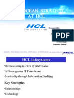 Strategies at HCL by Faraz Shahid