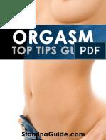 Stamina Guide Orgasm Top Tips