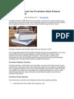Kebijakan Akuntansi Dan Perubahan Dalam Estimasi Akuntansi
