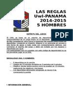 Las Reglas Uwl 2014-5 Hombres Panama Revision Final Enero 2015
