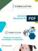 Cienciactiva en UNU