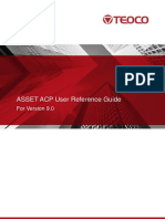 Asset ACP User Reference Guide