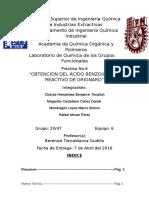 Practicano.6-Obtención Del Ácido Benzoico Por Reactivo de Grignard