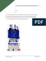 La Europa Unida Como Problema Ético Político en El Cine de Kieslowski