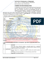 Advt. No.8 - Advertisemnet for Non-Teaching Posts - 2016 - Copy