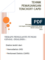Tehnik Pemasangan Tenchoff CAPD