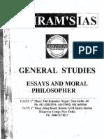 Sriram Essays & Moral Philo
