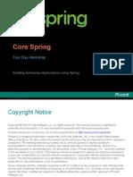 Spring Core Handout