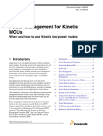 AN4503.Power Management for Kinetis