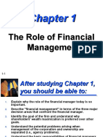 Lecture 1 - Introduction of Financial Management