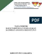 tata tertitp Rapat Paripurna Uji Kelayakan MKM.doc