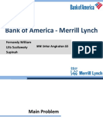 Bank of America - Merrill Lynch